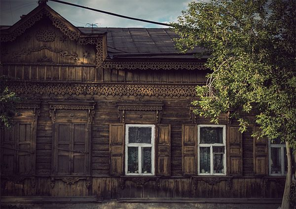 Russian wooden architecture 57