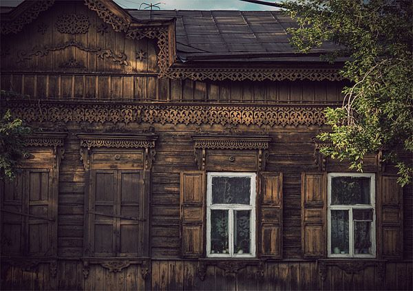 Russian wooden architecture 58