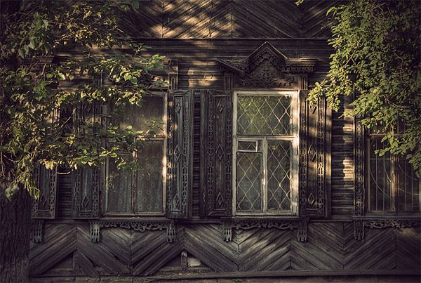 Russian wooden architecture 60