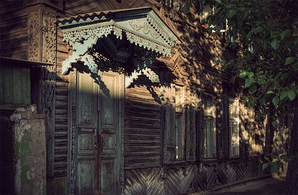Russian wooden architecture 62