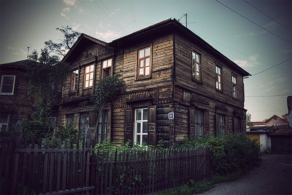 Russian wooden architecture 65