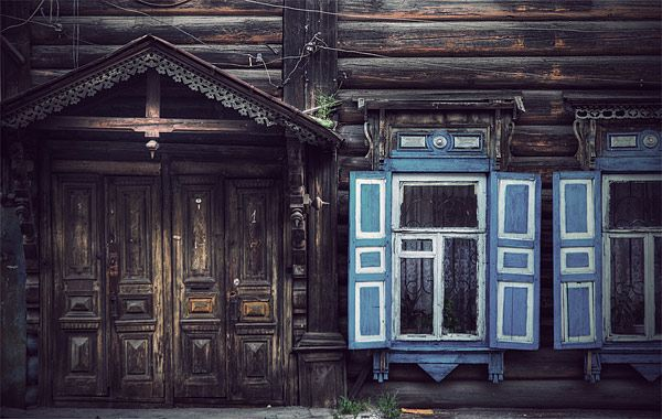 Russian wooden architecture 67