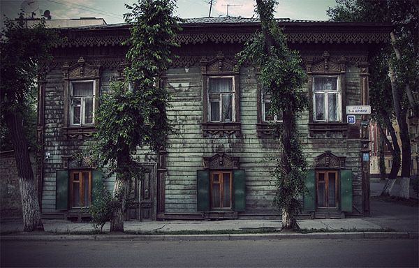 Russian wooden architecture 68