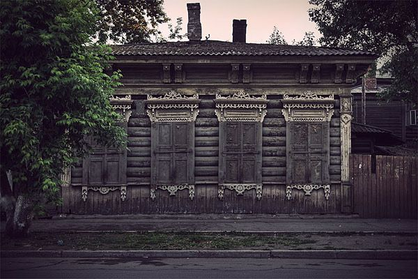 Russian wooden architecture 71