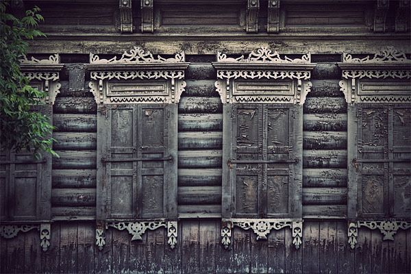 Russian wooden architecture 72