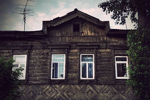 Russian wooden architecture 73