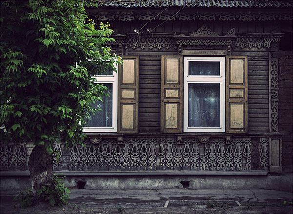 Russian wooden architecture 74