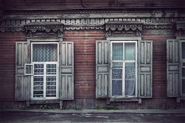Russian wooden architecture 75