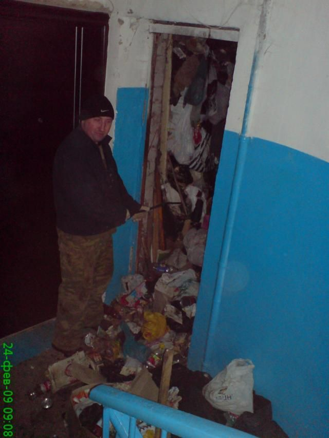 Most dirty appartment in the world, in Russia, Moscow