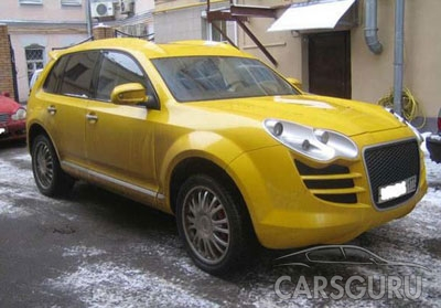 porsche cayenne in Moscow, Russia 4