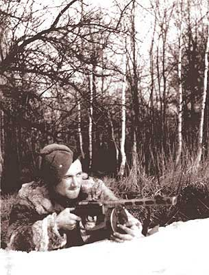 Private photos of Russian soldier from World War 2 2