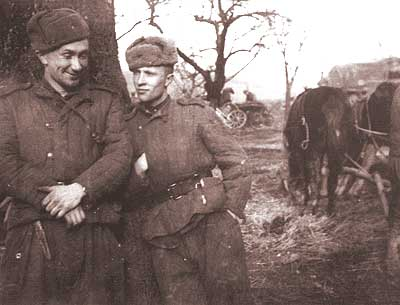 Private photos of Russian soldier from World War 2 22