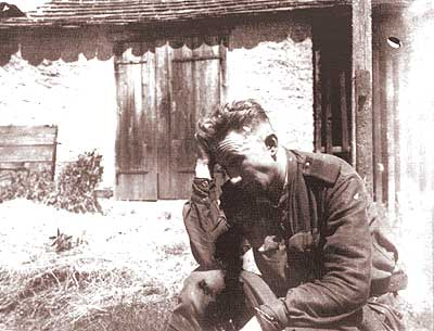 Private photos of Russian soldier from World War 2 23