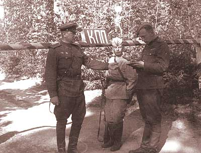 Private photos of Russian soldier from World War 2 33