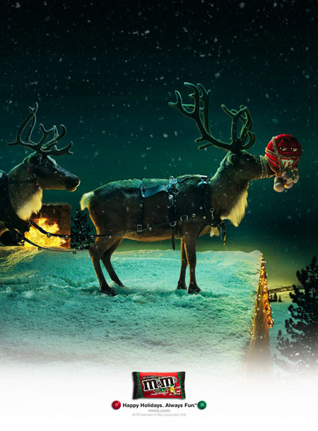 28 Inventive Christmas Ads Of All Times