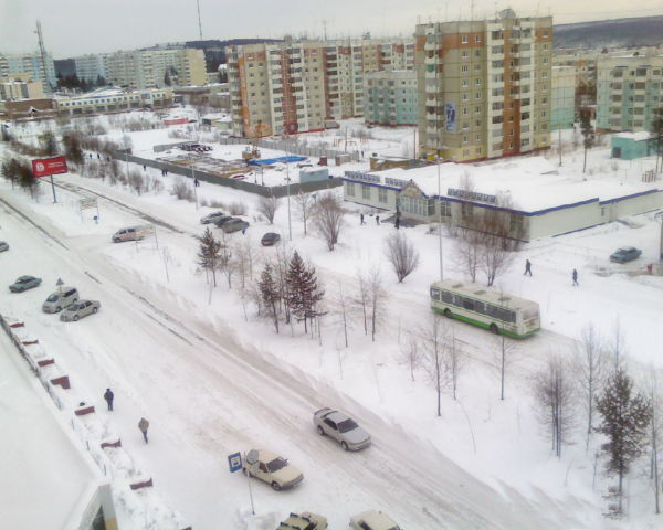Russian northern city 11