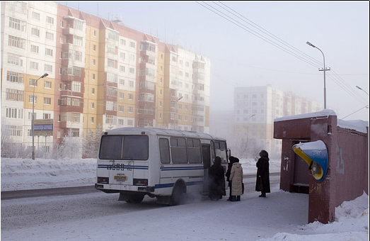 Russian northern city 17