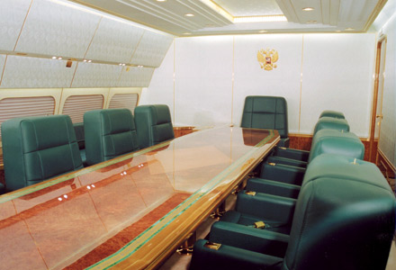 russian president's plane