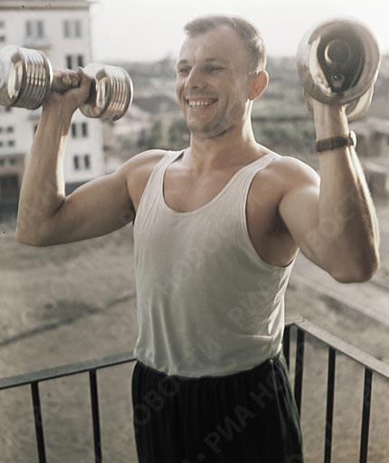 Yuri Gagarin, First Man in Space, He is from Russia 16