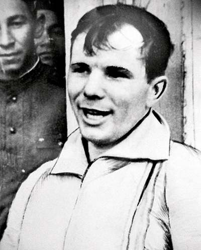 Yuri Gagarin, First Man in Space, He is from Russia 2