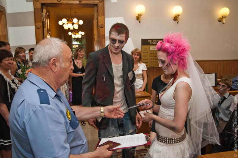 Zombie Wedding -  Accord of Black Hearts 15