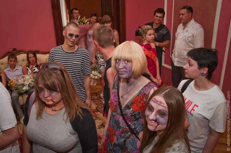 Zombie Wedding -  Accord of Black Hearts 16
