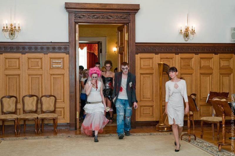 Zombie Wedding -  Accord of Black Hearts 25