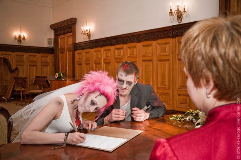 Zombie Wedding -  Accord of Black Hearts 27