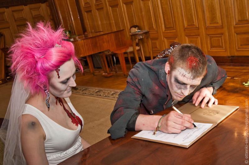 Zombie Wedding -  Accord of Black Hearts 28