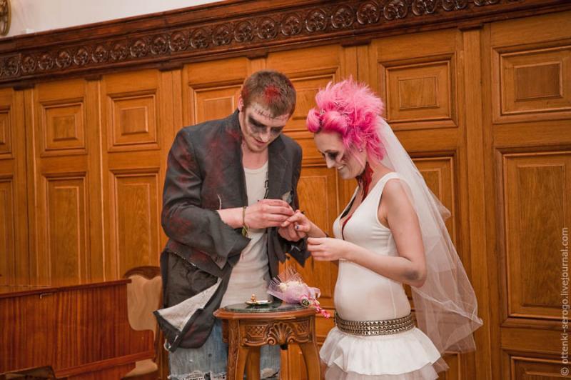 Zombie Wedding -  Accord of Black Hearts 29