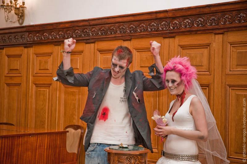 Zombie Wedding -  Accord of Black Hearts 31