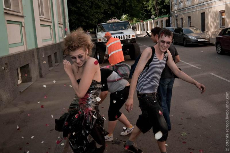 Zombie Wedding -  Accord of Black Hearts 32