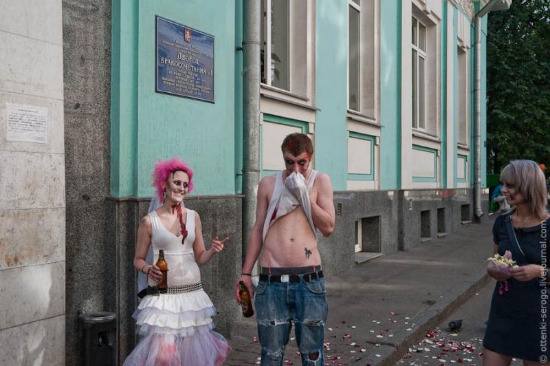 Zombie Wedding -  Accord of Black Hearts 35