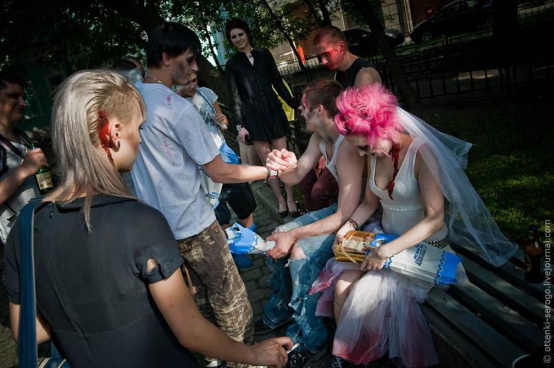 Zombie Wedding -  Accord of Black Hearts 43