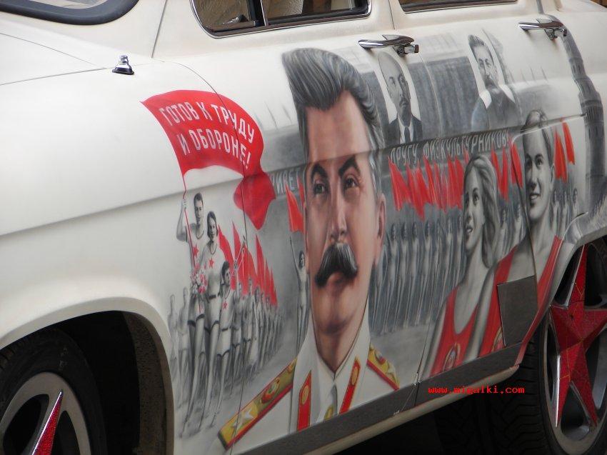 Volga Car, Stalin Edition [15 pics]