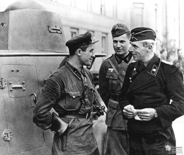 german and soviet soldiers were friends