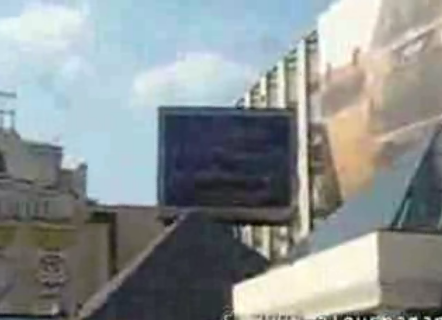 Russian hackers switch of billboard