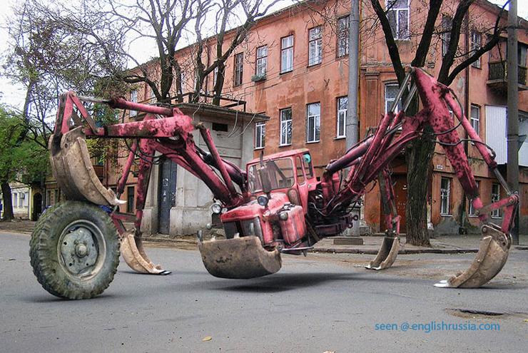 Strange Russian Tractor