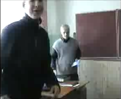 lesson in Ukrainian school