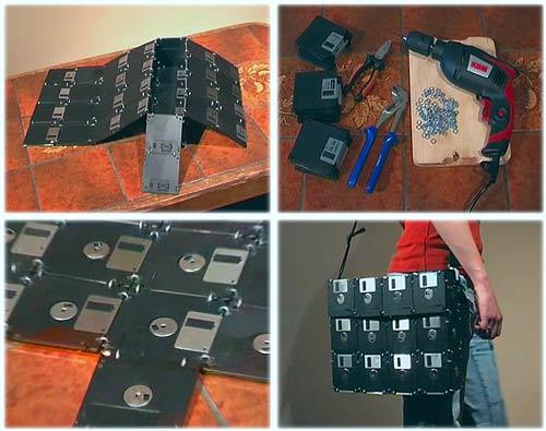 Floppy Discs Bag