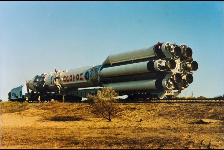 The Baikonur Cosmodrome