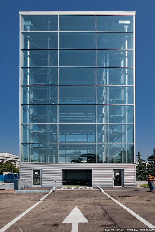 Glass Parking Lots