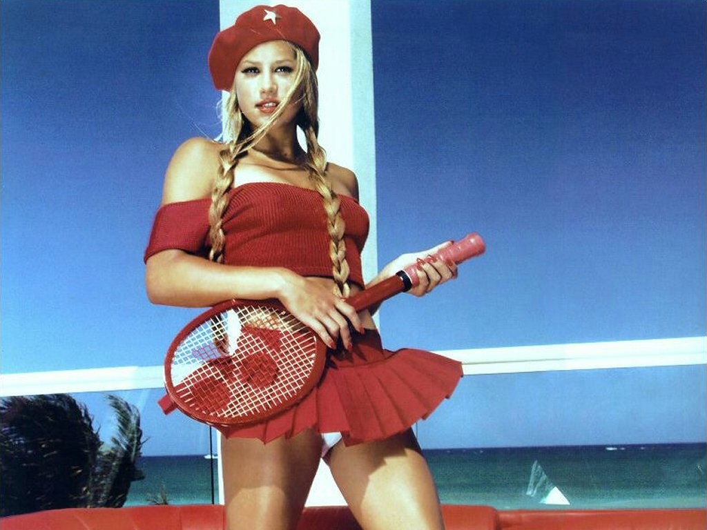 1 anna kournikova Tiny Tits Stockings; Big. Tiny Tits Stockings; Big older women in stockings