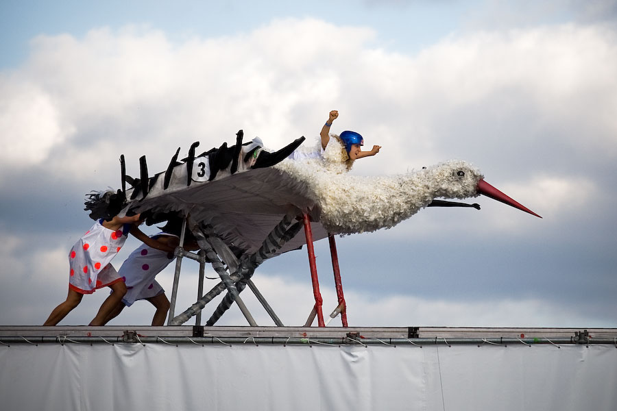 Red Bull Flugtag Came To Moscow