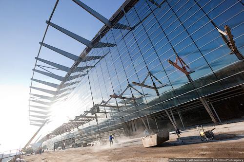 """New Passenger Terminal """"Vnukovo"""""""