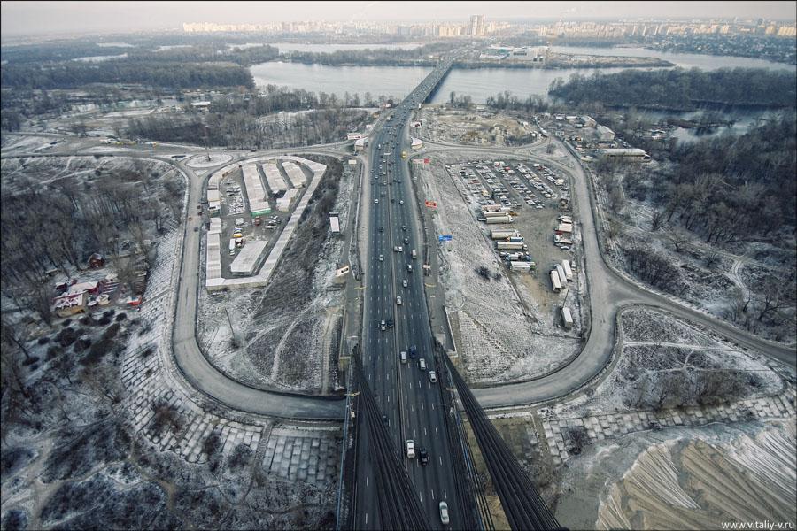 Kiev: Moscow Bridge