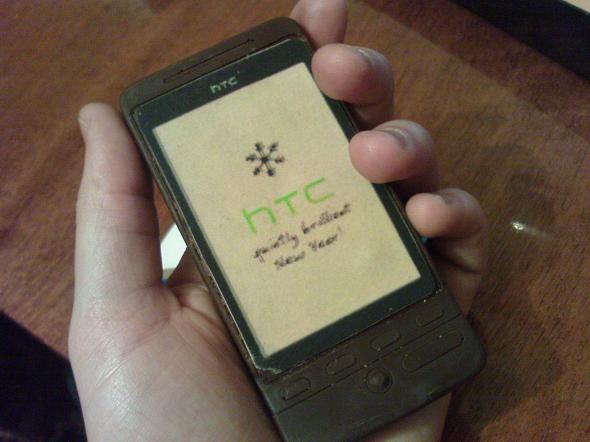 A chocolate copy of HTC Hero