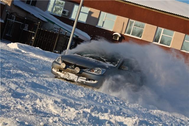 Winter Drifting