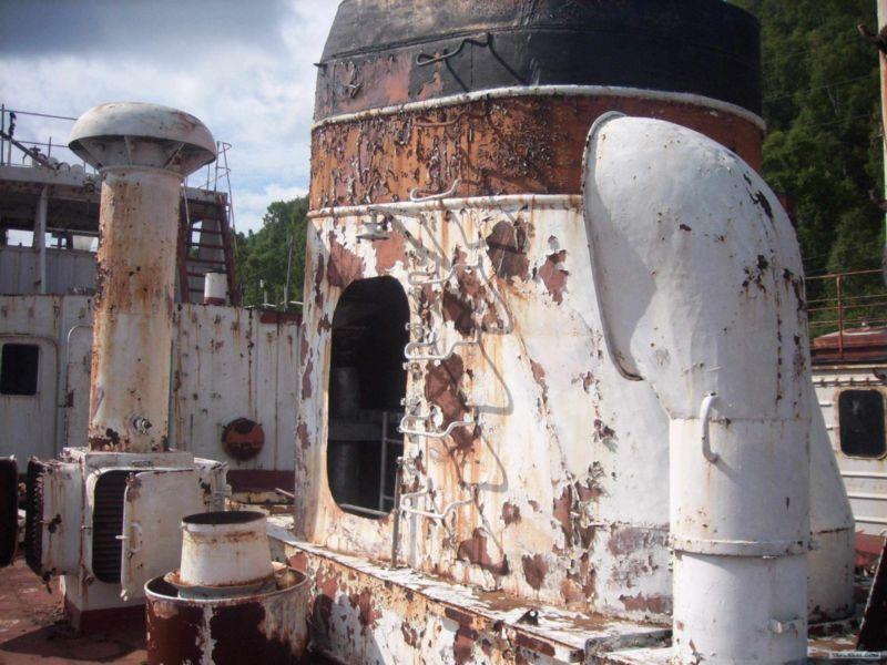 Cementerio de barcos en Rusia