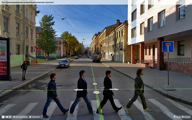 Abbey Road, St. Petersburg - English Russia on goodbye google maps, new jersey google maps, animals google maps, bourbon street google maps, 1999 google maps,
